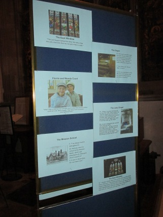 Church History Presentation Display 2