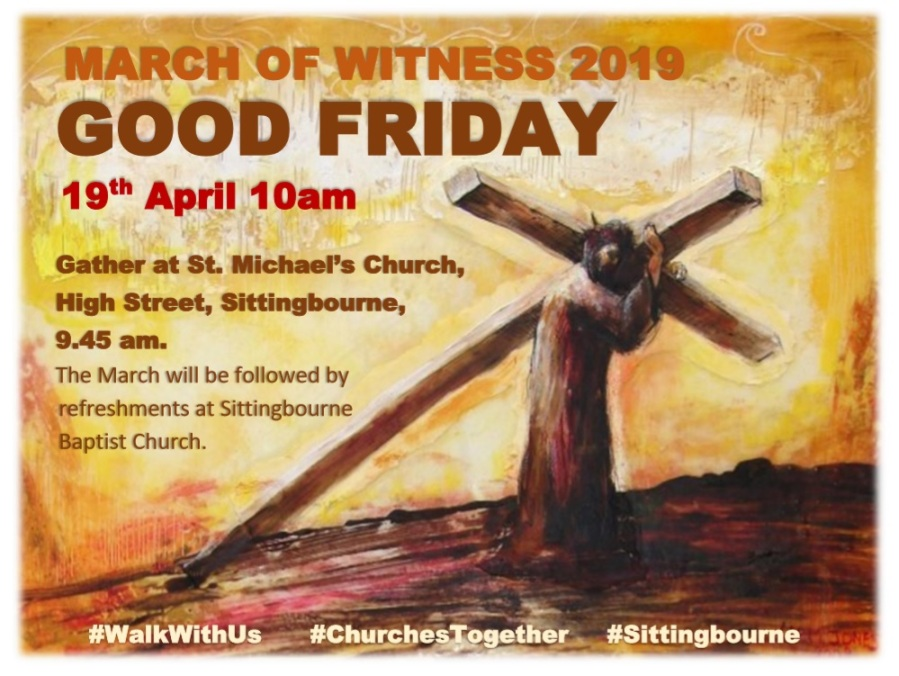 CTIS Good Friday March of Witness 2019