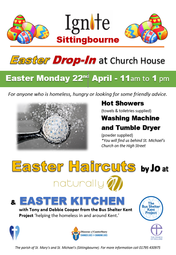 #Easter-Drop-In-at-StMichaels-Church-House-Sittingbourne-22-April 2019